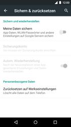 Motorola Moto G 3rd Gen. (2015) - Fehlerbehebung - Handy zurücksetzen - 8 / 11