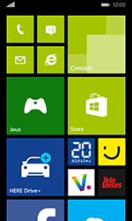 Nokia Lumia 635 - Internet et connexion - Partager votre connexion en Wi-Fi - Étape 1
