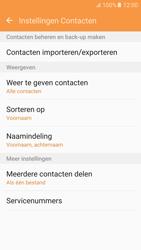 Samsung Galaxy S6 - Android M - Contacten en data - Contacten kopiëren van SIM naar toestel - Stap 6
