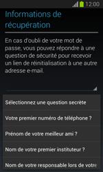 Samsung S7390 Galaxy Trend Lite - Applications - Créer un compte - Étape 14