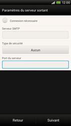 HTC S728e One X Plus - E-mail - Configuration manuelle - Étape 14