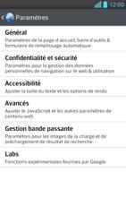 LG D505 Optimus F6 - Internet - Configuration manuelle - Étape 22