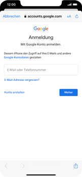 Apple iPhone 11 Pro Max - iOS 14 - E-Mail - 032a. Email wizard - Gmail - Schritt 7