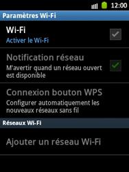 Samsung Galaxy Pocket - WiFi - Configuration du WiFi - Étape 6