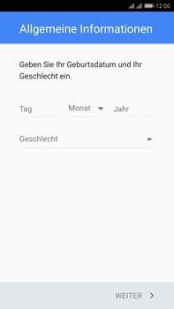 Huawei Mate 9 Pro - Apps - Konto anlegen und einrichten - Schritt 6