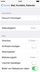 Apple iPhone 5c - iOS 8 - E-Mail - 032c. Email wizard - Outlook - Schritt 5