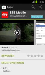 Samsung Galaxy S II - Apps - Installieren von Apps - Schritt 21