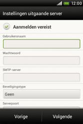 HTC A320e Desire C - E-mail - Handmatig instellen - Stap 12