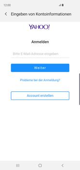 Samsung Galaxy S10 - E-Mail - Konto einrichten (yahoo) - Schritt 7