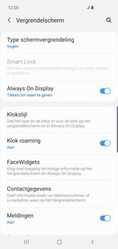 Samsung Galaxy S10 Plus - Beveiliging en privacy - automatische schermblokkering instellen - Stap 5