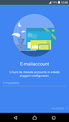 Sony Xperia X Compact (F5321) - E-mail - Account instellen (POP3 zonder SMTP-verificatie) - Stap 6