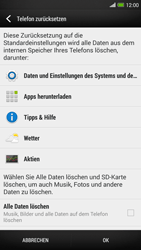 HTC One Max - Gerät - Zurücksetzen auf die Werkseinstellungen - Schritt 6
