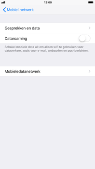 Apple iPhone 8 Plus - Internet - Dataroaming uitschakelen - Stap 6