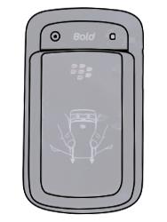 BlackBerry 9900 Bold Touch - SIM-Karte - Einlegen - Schritt 2