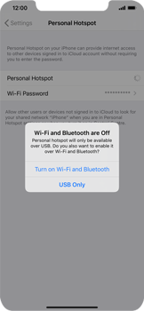 Apple iPhone XR - iOS 13 - WiFi - How to enable WiFi hotspot - Step 7