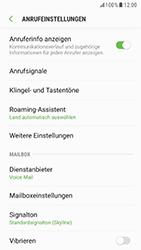 Samsung Galaxy S6 (G920F) - Android Nougat - Anrufe - Rufumleitungen setzen und löschen - Schritt 6