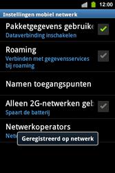 Samsung S5830i Galaxy Ace i - Bellen - in het buitenland - Stap 10
