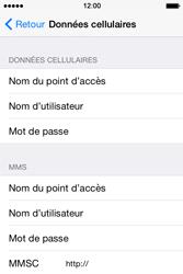Apple iPhone 4S (iOS 8) - Premiers pas - Configurer l