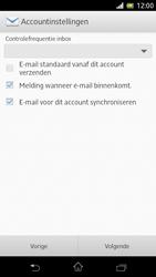 Sony C5503 Xperia ZR - e-mail - handmatig instellen - stap 18
