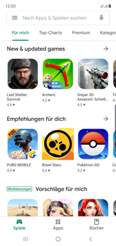 Samsung Galaxy Note 10 - Apps - Nach App-Updates suchen - Schritt 4