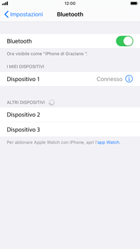 Apple iPhone 7 Plus - iOS 13 - Bluetooth - Collegamento dei dispositivi - Fase 6