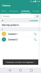 LG X Screen - Contactgegevens overzetten - delen via Bluetooth - Stap 11