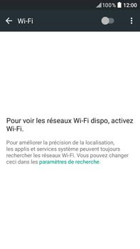 HTC Desire 825 - Internet et connexion - Accéder au réseau Wi-Fi - Étape 5