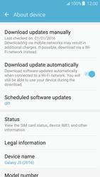 Samsung Galaxy J5 (2016) (J510) - Device - Software update - Step 6