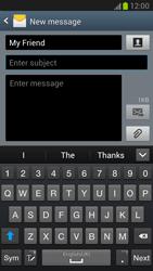 Samsung N7100 Galaxy Note II - MMS - Sending pictures - Step 8