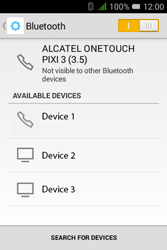 Alcatel Pixi 3 (3.5) - Bluetooth - Connecting devices - Step 7