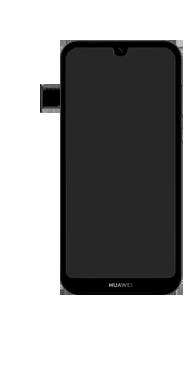 Huawei Y5 (2019) - Toestel - simkaart plaatsen - Stap 7