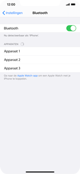 Apple iPhone XR - iOS 13 - Bluetooth - koppelen met ander apparaat - Stap 7