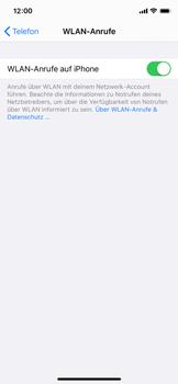 Apple iPhone XS - iOS 13 - WiFi - WiFi Calling aktivieren - Schritt 8