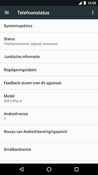 Android One GM5Plus DS - Software update - update installeren zonder PC - Stap 5