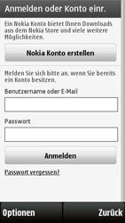 Nokia 5230 - Apps - Konto anlegen und einrichten - 11 / 15