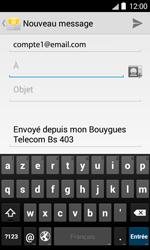 Bouygues Telecom Bs 403 - E-mails - Envoyer un e-mail - Étape 5