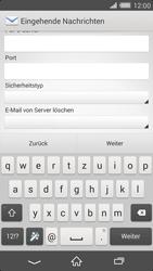 Sony Xperia Z2 - E-Mail - Konto einrichten - 2 / 2