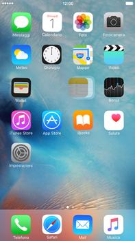 Apple iPhone 6 Plus iOS 9 - Operazioni iniziali - Personalizzazione della schermata iniziale - Fase 4