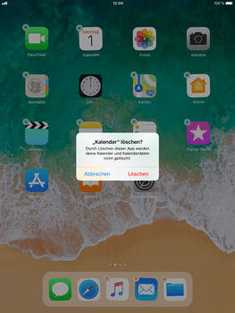 Apple iPad mini 3 - Apps - Löschen und wiederherstellen von vorinstallierten iOS-Apps - 4 / 13