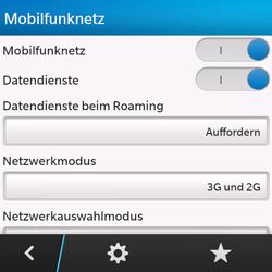 BlackBerry Q10 - Internet und Datenroaming - Manuelle Konfiguration - Schritt 7