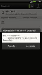 HTC One S - Bluetooth - Collegamento dei dispositivi - Fase 8