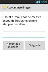 LG E610 Optimus L5 - E-mail - e-mail instellen: POP3 - Stap 7