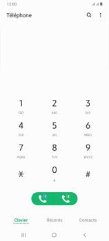Samsung Galaxy A70 - Messagerie vocale - configuration manuelle - Étape 5
