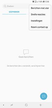 Samsung Galaxy A9 (2018) - sms - handmatig instellen - stap 5