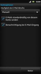 Sony Xperia U - E-Mail - Konto einrichten - Schritt 15
