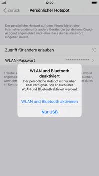 Apple iPhone 8 Plus - iOS 14 - WiFi - So aktivieren Sie einen WLAN-Hotspot - Schritt 7