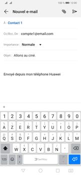Huawei P30 Pro - E-mails - Envoyer un e-mail - Étape 9