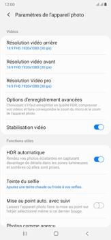 Samsung Galaxy Note20 Ultra 5G - Photos, vidéos, musique - Créer une vidéo - Étape 8