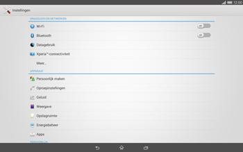 Sony Xperia Tablet Z2 4G (SGP521) - Buitenland - Bellen, sms en internet - Stap 5