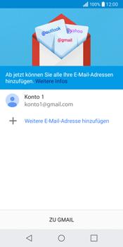 LG Q6 - E-Mail - Konto einrichten (gmail) - Schritt 12